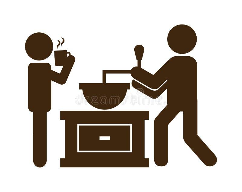 Café delicioso libre illustration