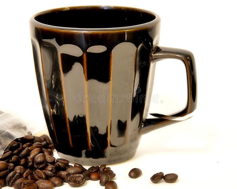 Café derramado imagen de archivo libre de regalías