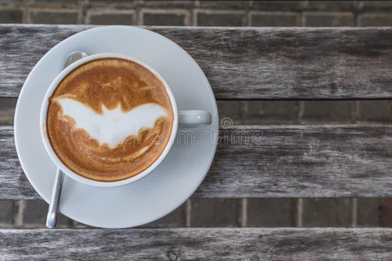 Café do bastão de Dia das Bruxas imagens de stock royalty free