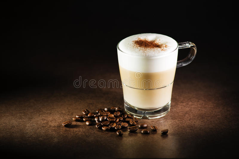 Café do cappuccino fotografia de stock royalty free