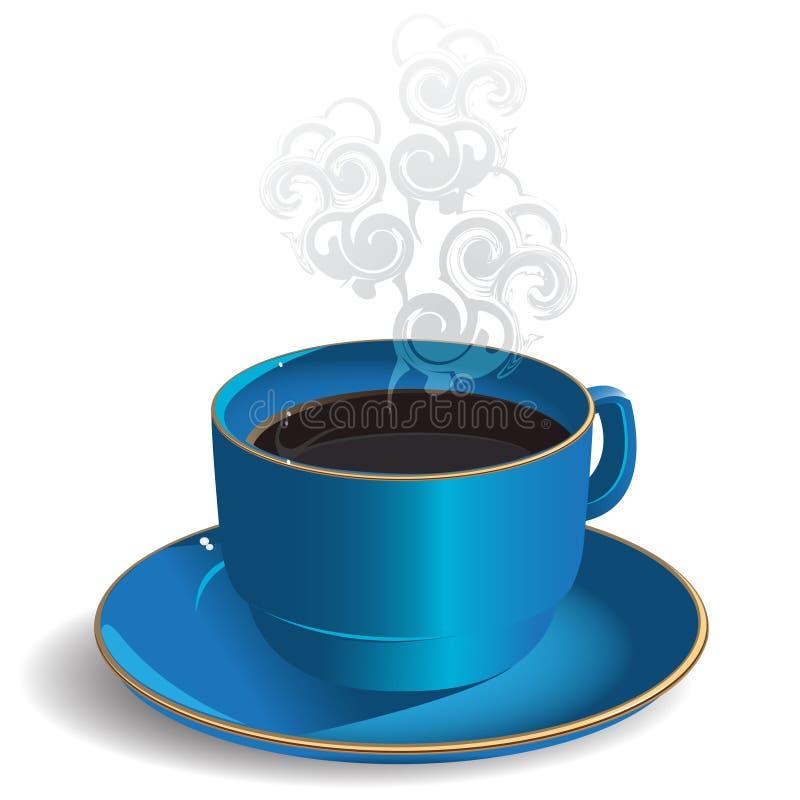 Café do copo ilustração do vetor