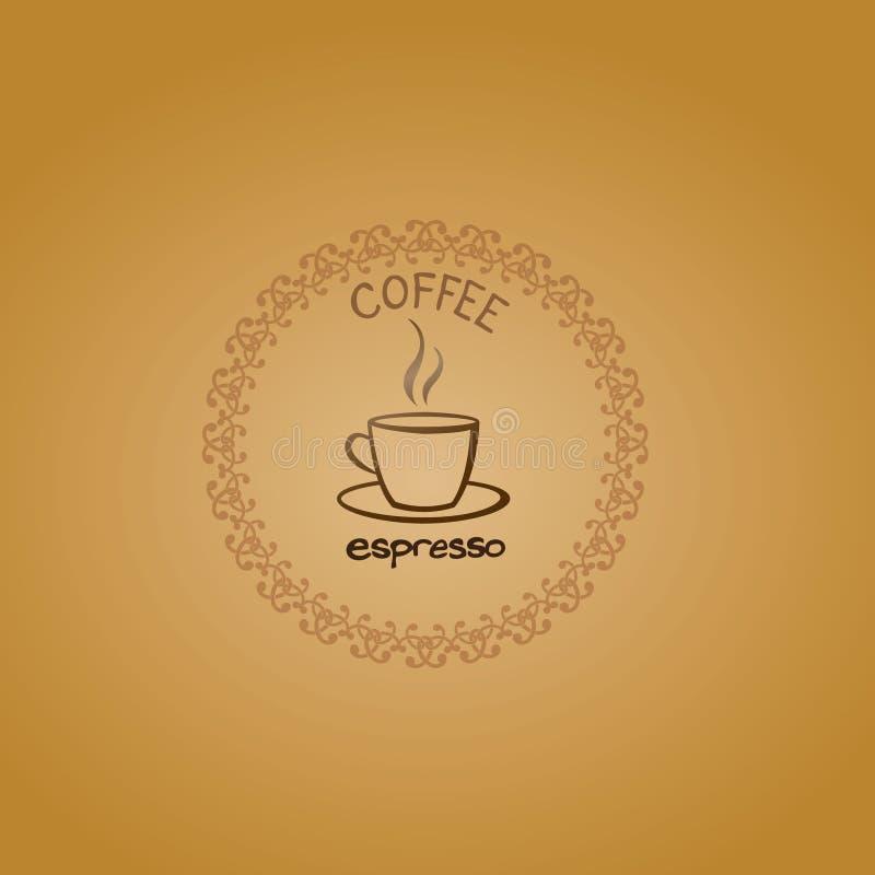 Café do fundo foto de stock
