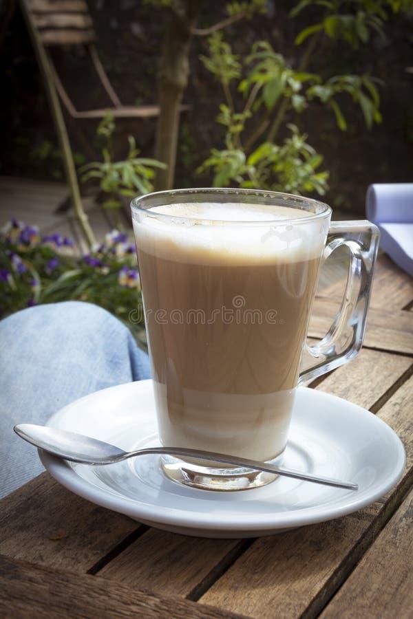Café do Latte fotografia de stock
