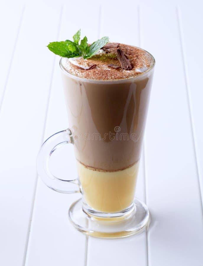 Café do licor imagem de stock