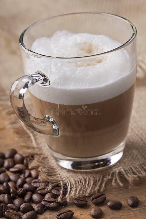 Café do macchiato do Latte fotos de stock royalty free