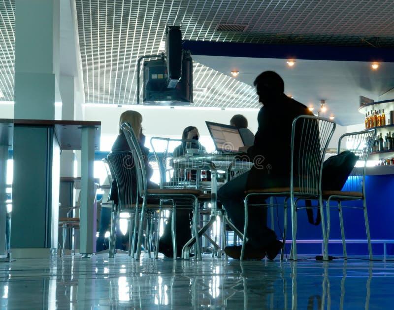Café do negócio fotos de stock royalty free