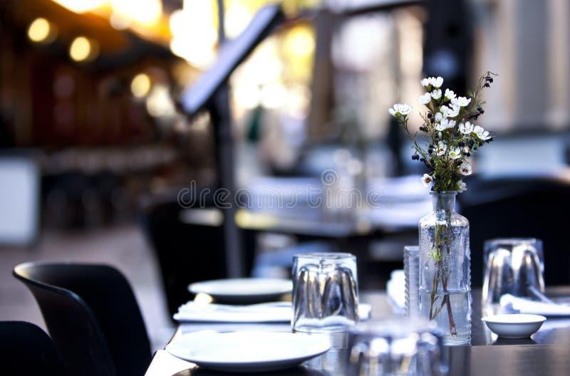 Café do pavimento foto de stock royalty free