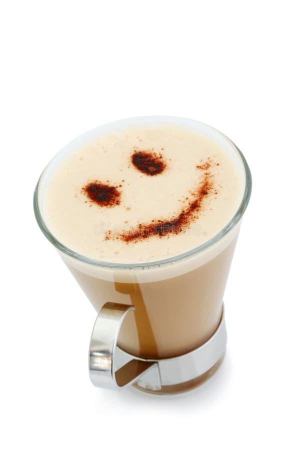 Café do smiley fotografia de stock royalty free