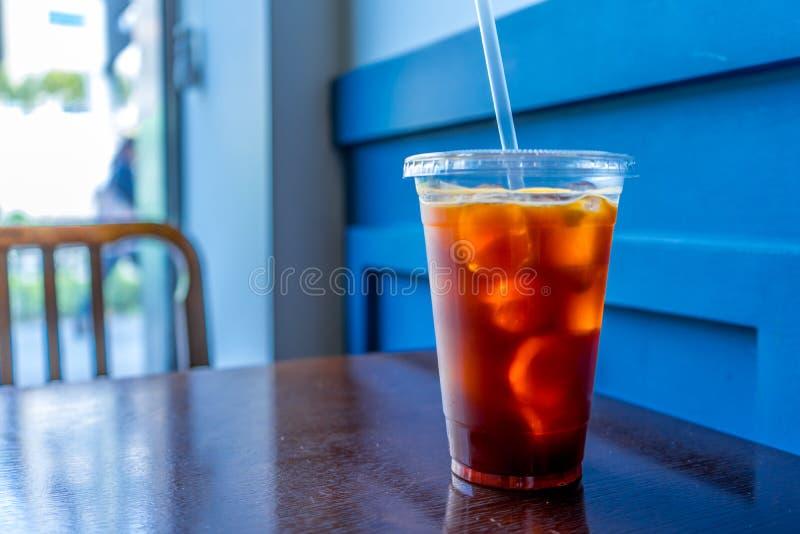 Café do verão em Coreia Seoul foto de stock