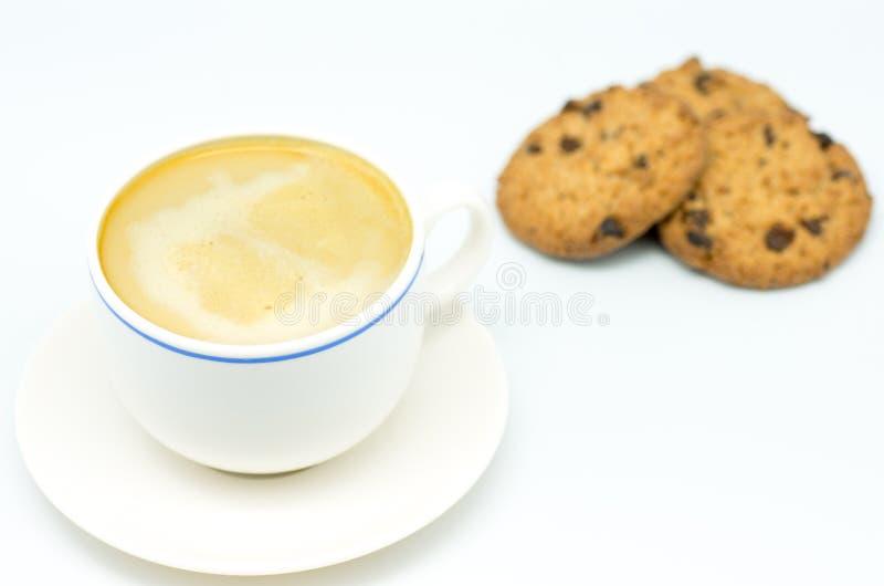 Café e biscoitos 9 foto de stock royalty free
