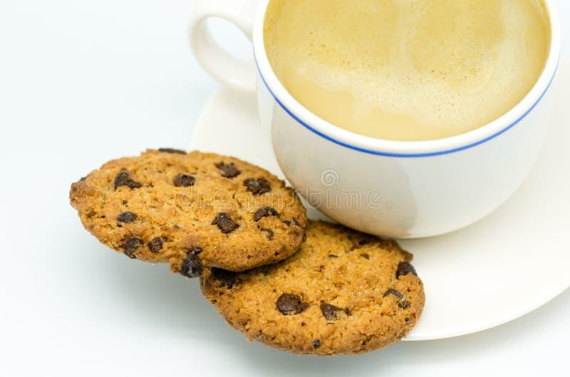 Café e cookies 5 fotografia de stock