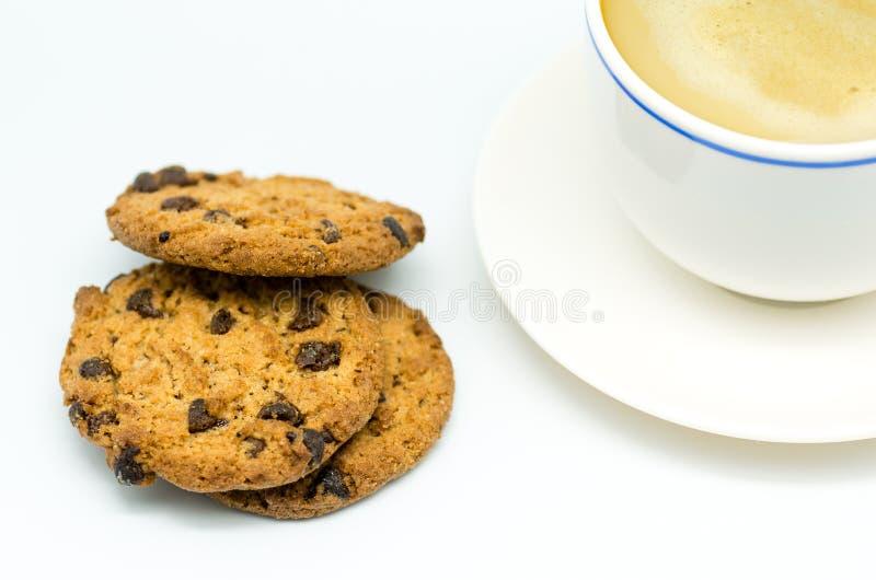 Café e cookies 7 imagem de stock royalty free