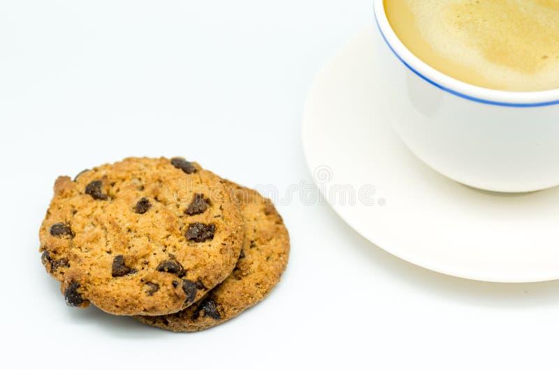 Café e cookies 8 imagem de stock royalty free