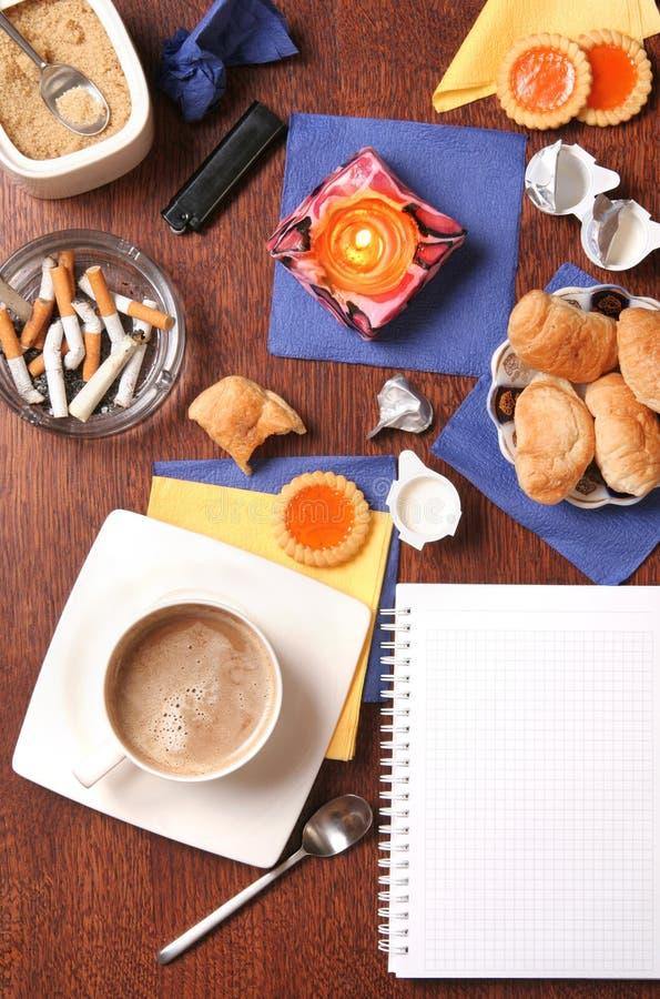 Café e outras alegrias imagens de stock