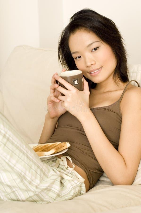 Café e pequeno almoço fotos de stock