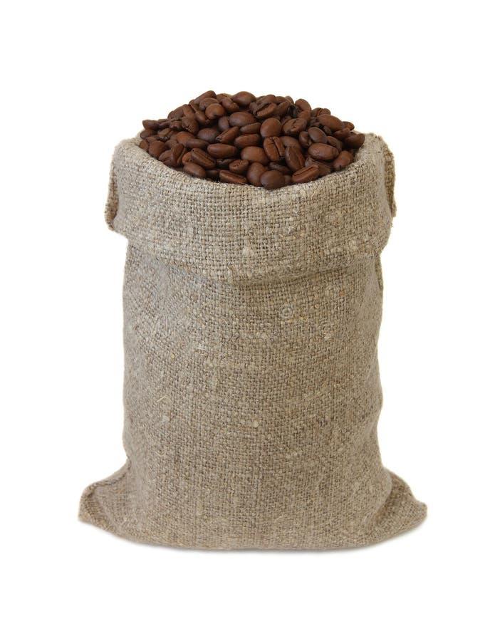 Café em um saco. imagem de stock