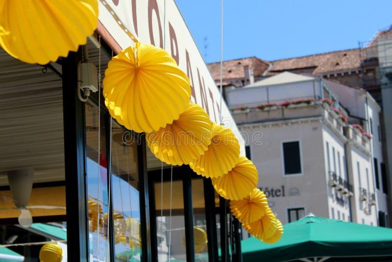 Café em Veneza fotos de stock royalty free