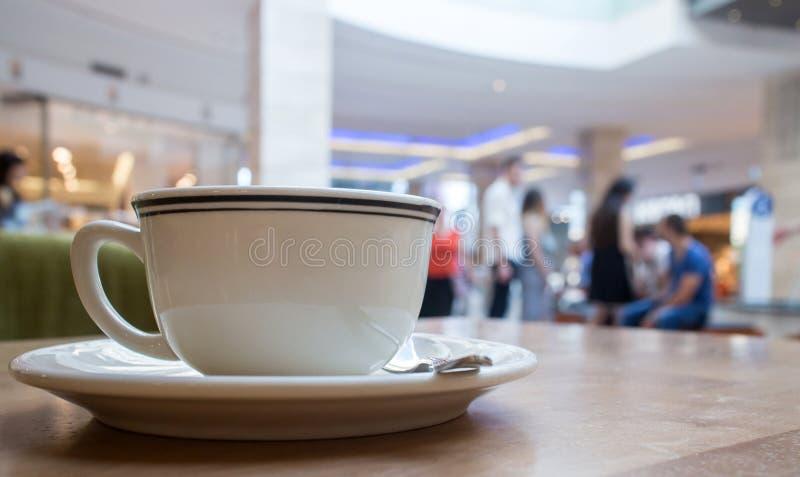 Café en alameda imágenes de archivo libres de regalías