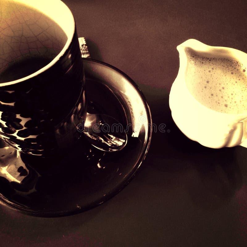 Café en el café del art déco imagen de archivo