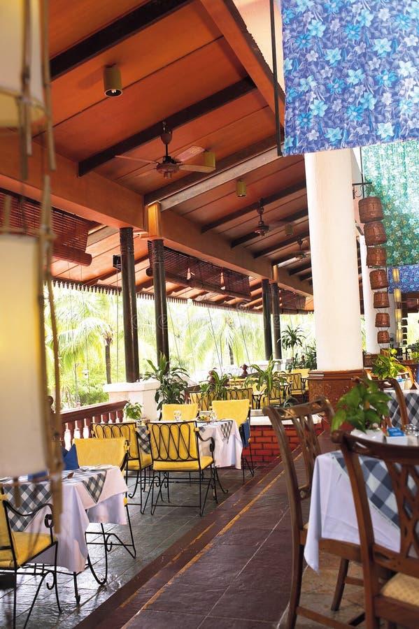 Café en plein air photographie stock libre de droits