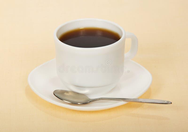 Download Café En Taza Con El Platillo Foto de archivo - Imagen de taza, café: 41918712