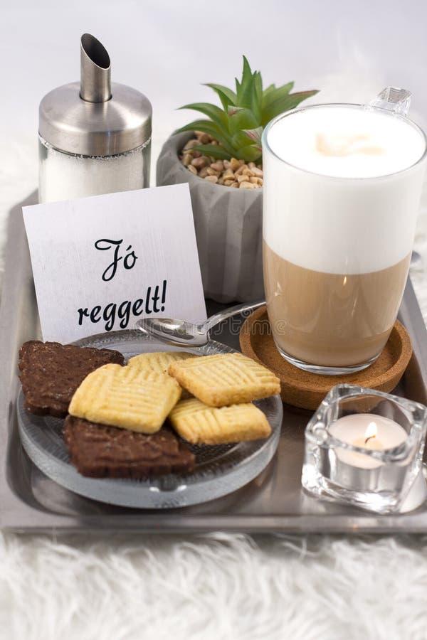 Café espumoso saboroso fotos de stock