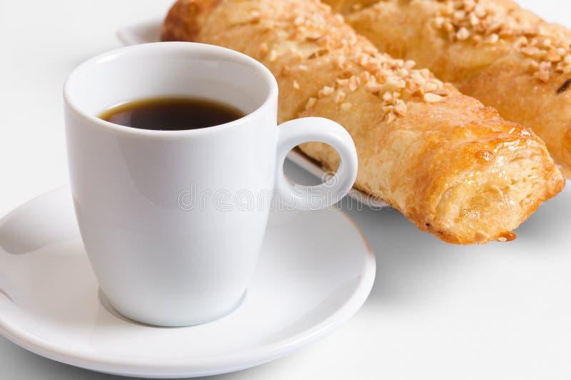 Café et gâteaux photographie stock libre de droits