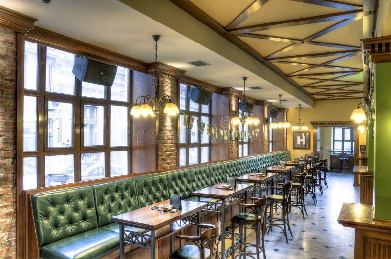 Café et intérieur de Pub image libre de droits