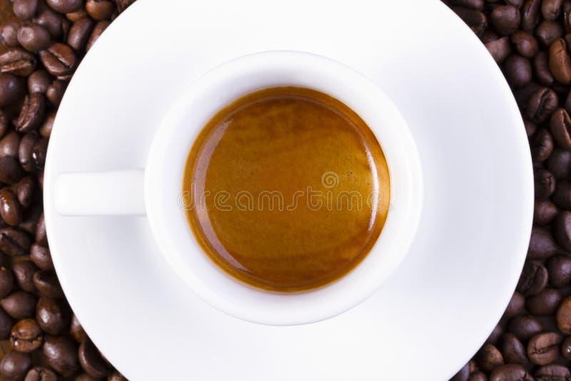 Café express corto imagenes de archivo