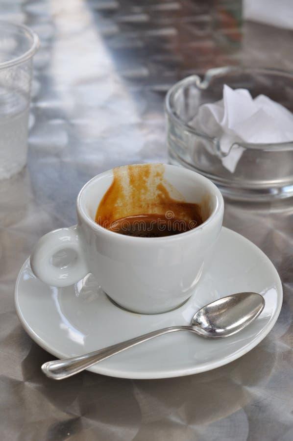 Café express de café photographie stock libre de droits
