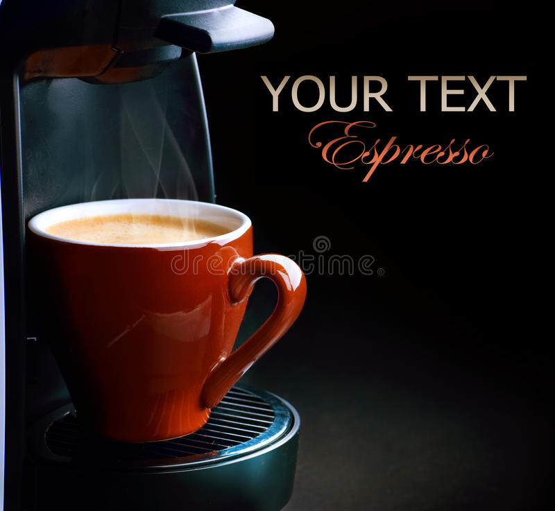 Café express de café photo libre de droits