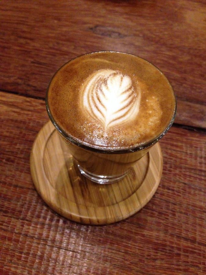 Café express de flautín fotografía de archivo libre de regalías