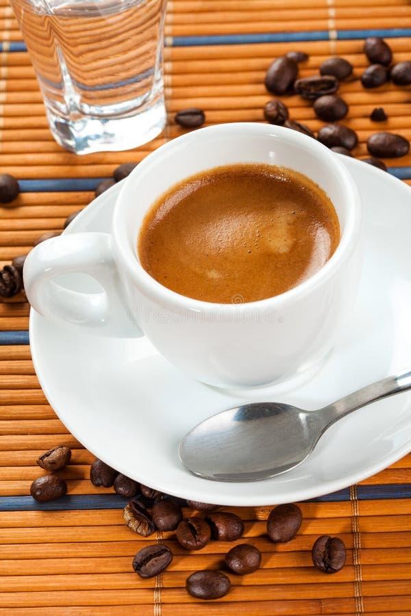 Café express del café foto de archivo libre de regalías