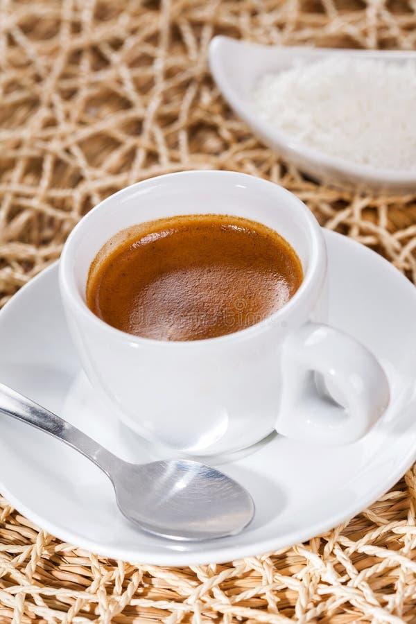 Café express del café, taza de café imagen de archivo