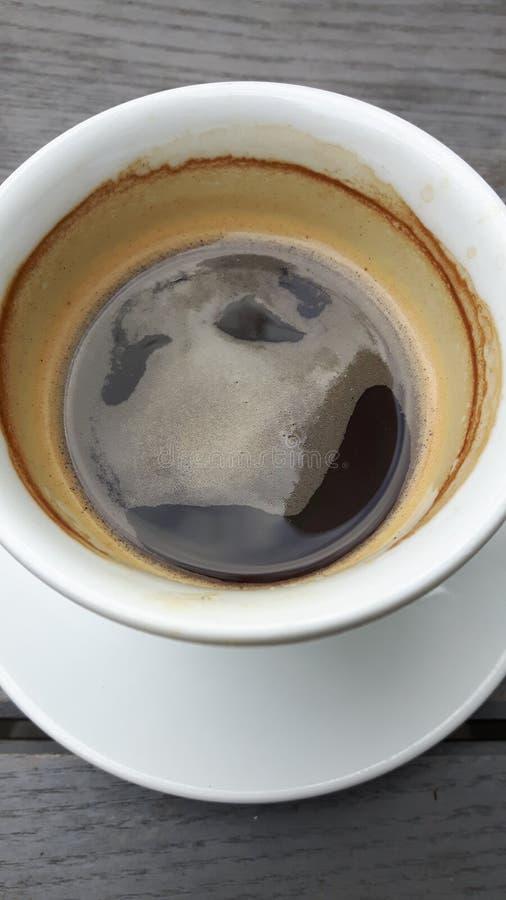 Café feliz fotografía de archivo