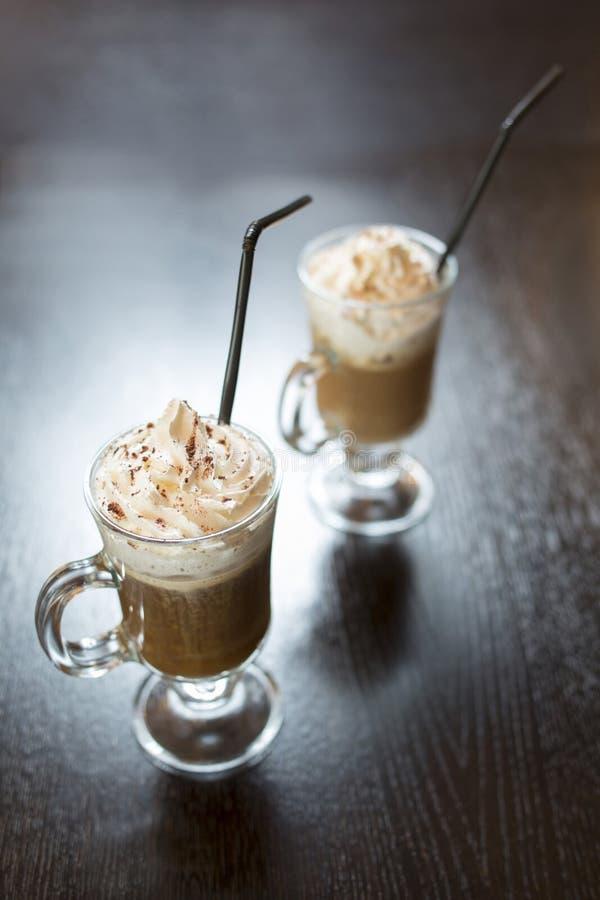 Café frío fotografía de archivo libre de regalías
