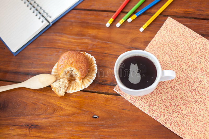 Café frais chaud image libre de droits