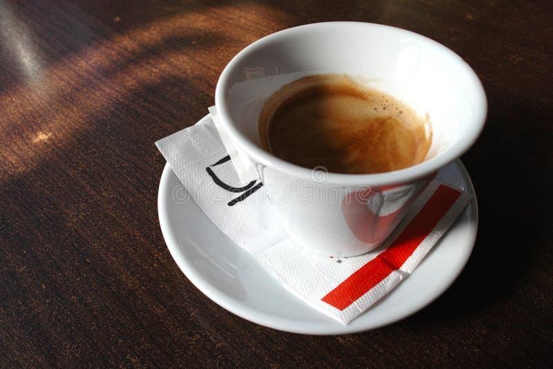 Café fresco da manhã fotografia de stock royalty free