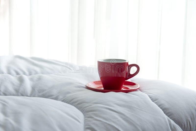Café fresco de la mañana fotografía de archivo libre de regalías