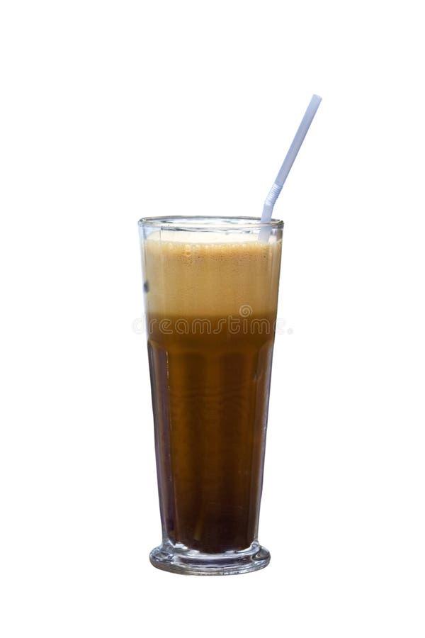 Café frio grego chamado   imagem de stock royalty free