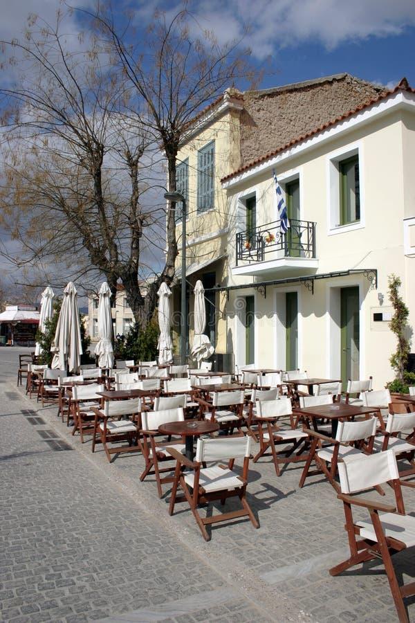 Download Café grego imagem de stock. Imagem de restaurante, historic - 112799