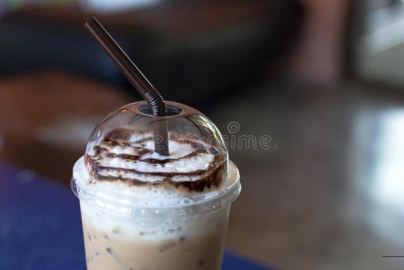 Café helado de la moca imágenes de archivo libres de regalías