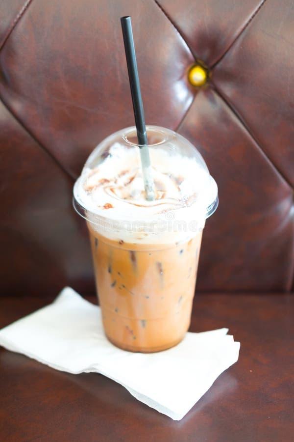 Café helado de la moca fotografía de archivo