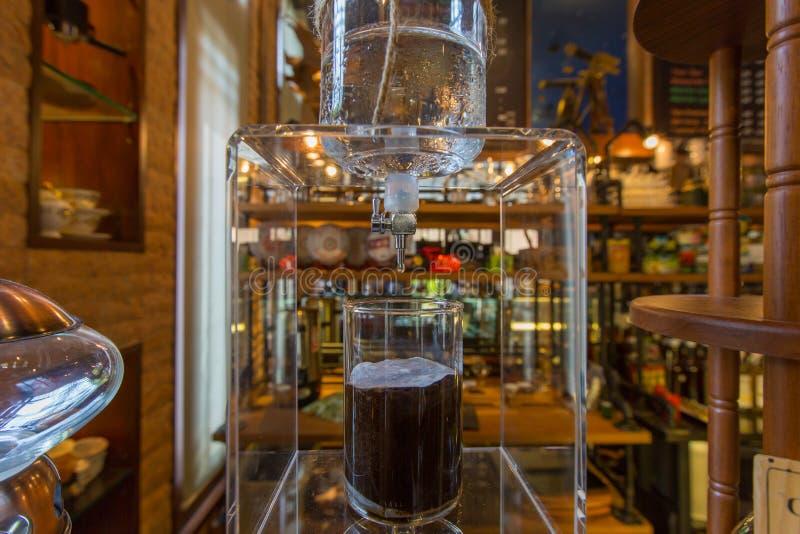 Café holandês da água fria fotografia de stock