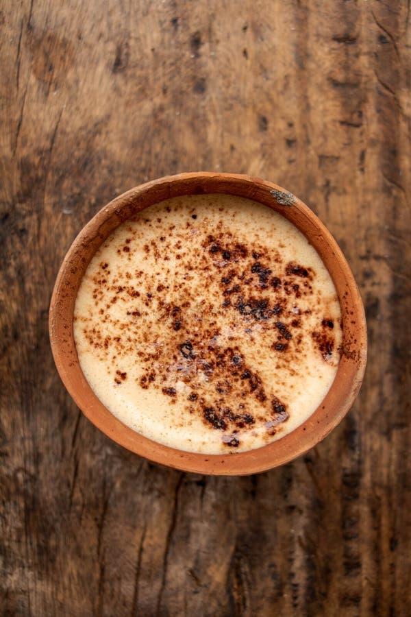 Café indien de pot d'argile de Kulhad photo libre de droits