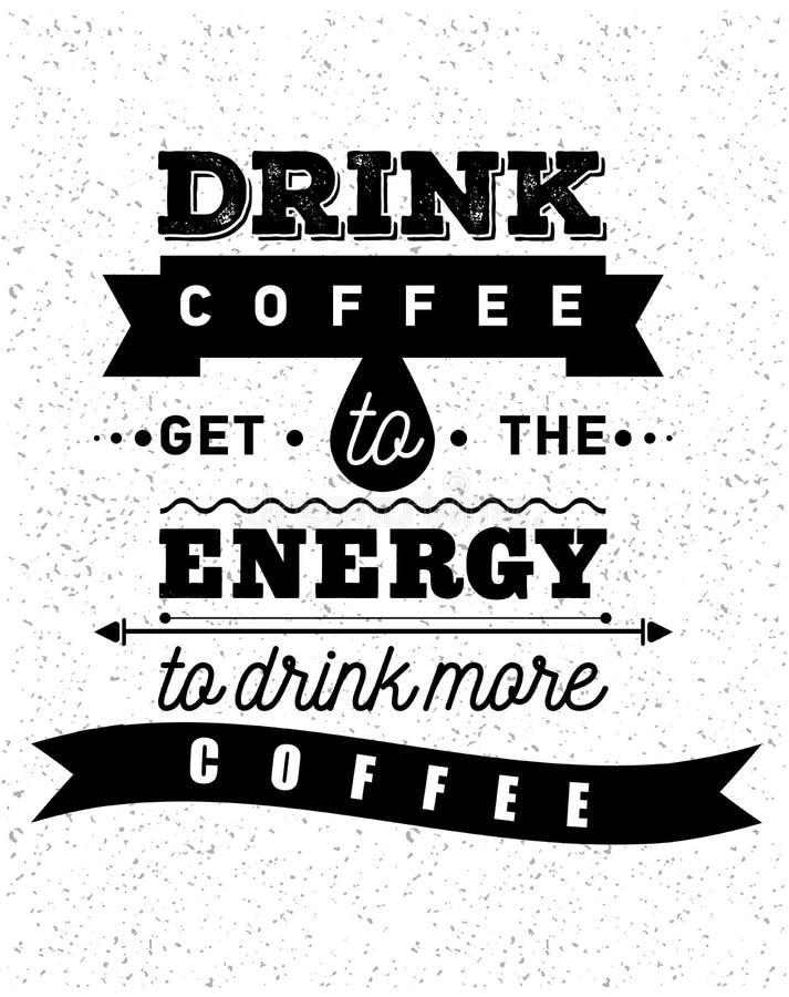 Café inspirado y encouraging libre illustration