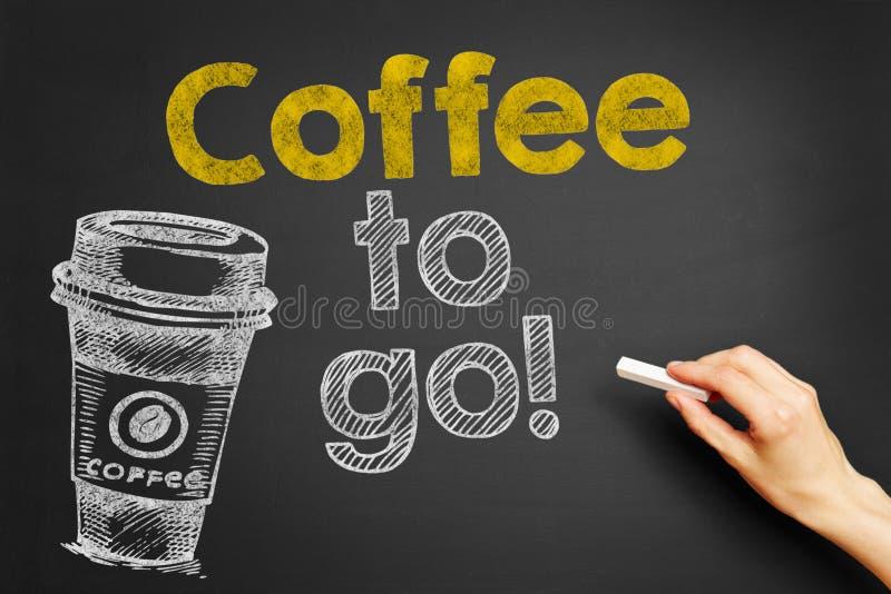 Café a ir! imagens de stock