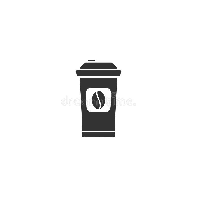 Café a ir icono completamente stock de ilustración