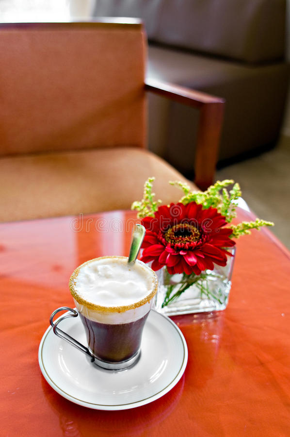 Café irlandês imagem de stock