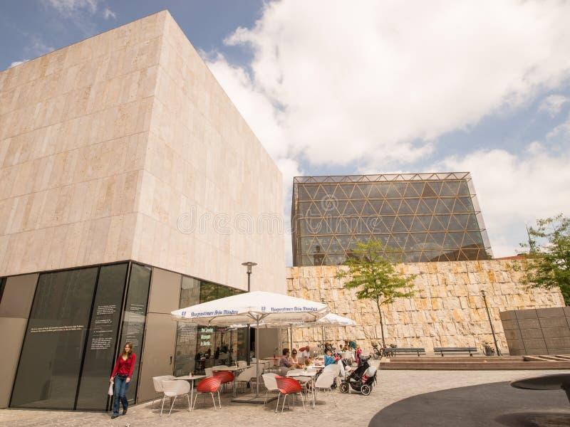 Café juif Munich de musée photographie stock